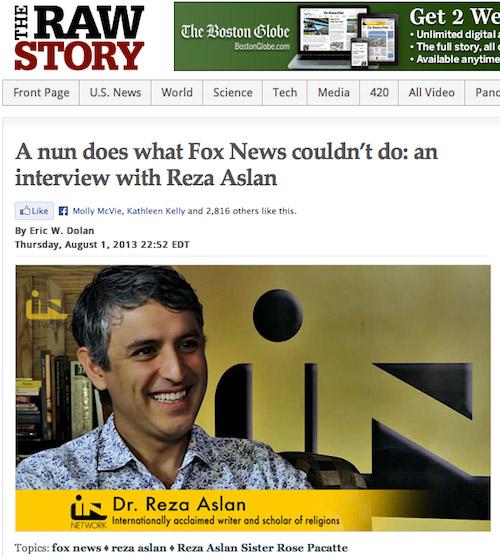 Reza Raw Story Sister Rose