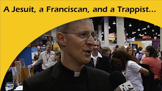 A Jesuit, a Franciscan, and a Trappist …