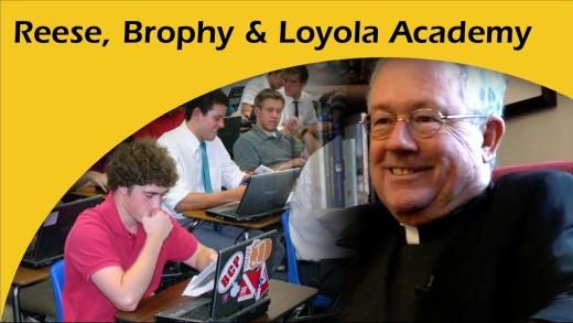 Eddie Reese, SJ: Brophy Prep & Loyola Academy
