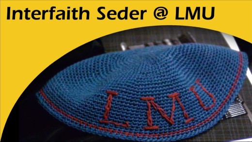 Interfaith Seder at Loyola Marymount University