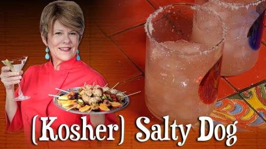 (Kosher) Salty Dog   Pre-Prans with Ruthie