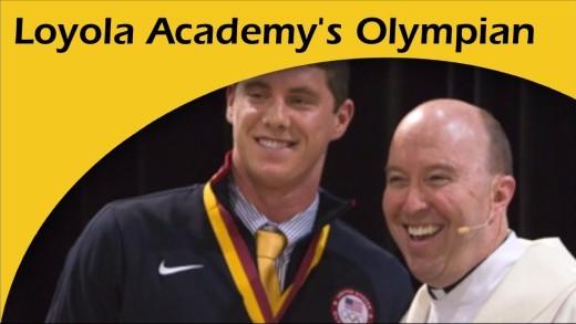 Loyola Academy's Own Olympian