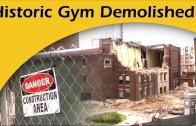 Loyola Demolishes Historic Gymnasium