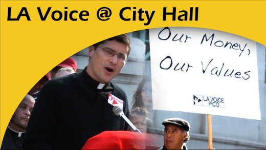 On The Steps Of City Hall: LA Voice