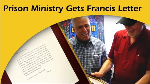 Prison Ministry Gets Letter from Pope Francis