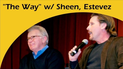 "Sheen and Estevez Show Us ""The Way"""