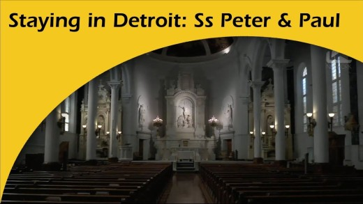 Staying in Detroit: Saints Peter & Paul Church