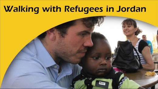 Walking with Refugees in Jordan