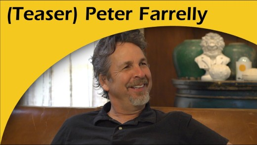Dumb and Dumber director Peter Farrelly chats with a Jesuit