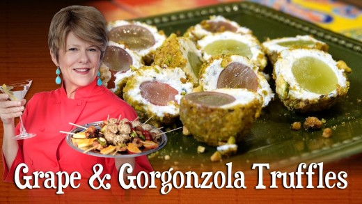 Grape & Gorgonzola Truffles | Pre-Prans with Ruthie