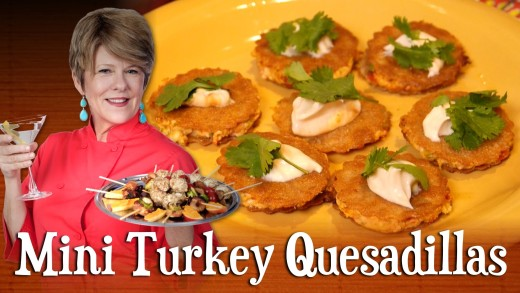 Mini Turkey Quesadillas | Pre-Prans with Ruthie