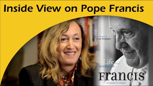Elisabetta Piqué, an inside view on Pope Francis