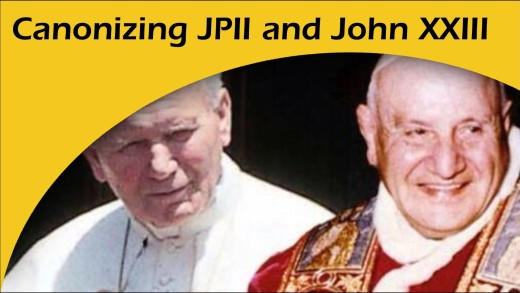 Canonization of Pope John XXIII and Pope John Paul II
