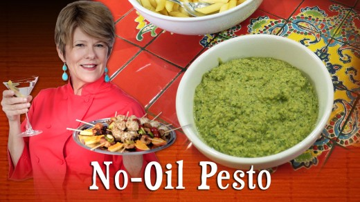 Pre-Prans with Ruthie – No-Oil Pesto