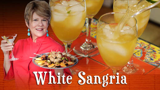 Pre-Prans with Ruthie – White Sangria