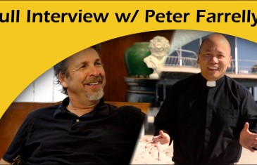 What happens when the director of Dumb and Dumber opens up to a Jesuit?